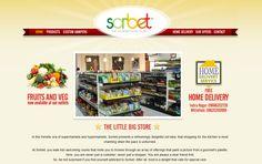 Website for Sorbet Gourmet Store, designed by us: www.sorbetfoods.com
