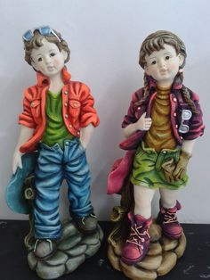 Catalogo de figuras Yesos y Figuras Sculpture Art, Sculptures, Diy And Crafts, Arts And Crafts, Ceramic Painting, Resin Crafts, Clay Art, Ronald Mcdonald, Decoupage