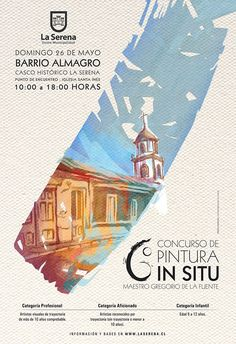 Afiches realizados durante el 2013 para I. Municipalidad de La Serena