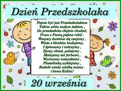 DZIEŃ PRZEDSZKOLAKA - Obrazek 1 Crafts For Kids, Diy And Crafts, Kids Education, Learning Activities, Kindergarten, Preschool, Classroom, Comics, Funny