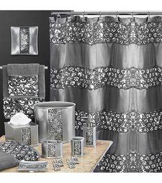 Nice PB Home™ Sinatra Silver Bath Collection | Bon Ton