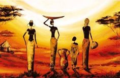 Pinned from Pin It for iPhone Oil Painting Pictures, Art Pictures, Afrique Art, African Quilts, African Art Paintings, Contemporary African Art, Art Premier, African American Art, Art Plastique