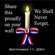 Thinking of those who lost their life on this day