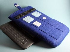 It's a TARDIS. Your Kindle wears a TARDIS now. TARDISes are cool.