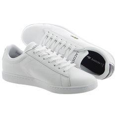 Buty męskie #LACOSTE, model CARNABY EVO G316 5, w kolorze białym z białą podeszwą, idealnie nadają się  na sezon wiosna-lato 2017.  Są bardzo eleganckie, wygodne oraz lekkie. Obuwie wyprodukowano ze skóry naturalnej oraz najwyższej jakości materiałów syntetycznych (dodatki).  #butymęskie #obuwiemęskie #kolekcjaLacoste #butysportowe #butyLacoste