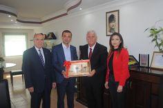 SGK İzmir'den İESOB'a ziyaret - Çınar Haber Ajansı