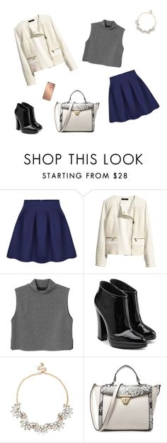 """""""My life"""" by lol5295 ❤ liked on Polyvore featuring H&M, Monki, Giuseppe Zanotti, Sole Society and Mura"""