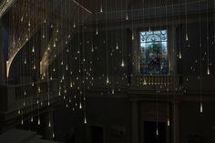Bruce Munro's Light Shower is an Ethereal Cascade of LED Lights ...