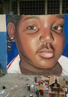 #realismo #Caritamorenita #Mscoskwan21 #Ecuador #GraffityLife
