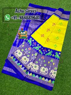 Pochampally ikkat silk sarees ,lahengas ,duppatas and ikkat cotton suits ,sarees available For orders plz msg me in WhatsApp: 9346105747 sarees # pochampally sarees sarees wear silk silk Ikkat Pattu Sarees, Pochampally Sarees, Picnic Blanket, Outdoor Blanket, Saree Styles, Saree Collection, Saree Wedding, Cotton Saree, Indian Sarees