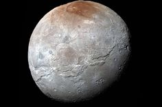 Pluto's Moon Charon Had Its Own Icy Plate Tectonics