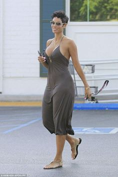 Nicole Murphy put on quite the display as she made her way to Bristol Farms in West Hollywood on Tuesday. The actress flaunted her impressive figure in a floaty plunging maxi dress. Nicole Murphy, Summer Wear, Summer Outfits, Cute Outfits, Hally Berry, Ebony Beauty, Beautiful Black Women, Woman Crush, Hot Girls
