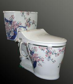 Arita porcelain toilet