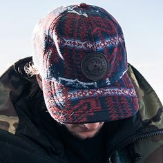 #onedapperstreet keeps warm in the Canada Goose x Pendleton Wool Cap.