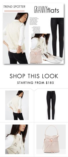"""""""Shoe Trend: Granny Flats"""" by tedbaker ❤ liked on Polyvore featuring Ted Baker, tedbaker, trendingnow, Tedtotoe and grannyflats"""