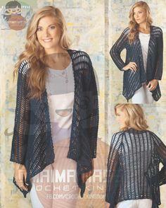 Georgianna Jacket - free crochet pattern.