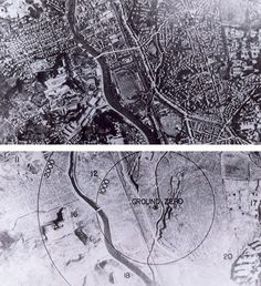Nagasaki, before and after  On August 9, 1945, when a plutonium bomb was detonated over the city of Nagasaki, between 39,000 and 80,000 people were killed. Half died instantly, thankfully. The other half experienced slow painful death