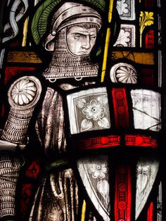 Stained Glass at Christ Church Cathedral, Dublin, Ireland. Photo by Tyson Wintibaugh