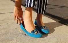Charlotte Olympia zodiac flats   La Vie de Villa #fashion #streetstyle #blogger
