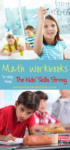 Twin Cities Kids Club Blogs: Awesome Math Workbooks to Help Keep the Kids' Skills Strong - Keeping school-aged children interested and caught up on their school subjects can be difficult, especially over the summer. Perhaps your child is just lacking in a specific area and needs extra help. Workbooks for those subjects can be an excellent way to encourage and perfect those skills. | Math | Workbook | Kids Skills Play Based Learning, Hands On Learning, Learning Through Play, Math Workbook, School Subjects, Children Toys, Twin Cities, Reggio, Educational Activities