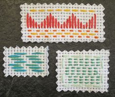 Harvest Moon by Hand: Take a Stitch Tuesday - Running Stitch - Week 10