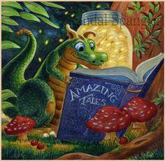 """Reading by Firefly Light,"" by Randal Spangler"