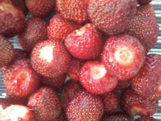 FINLAND STRAWBERRIES. Recommended. BUY&EAT Healthy and Taste Delicious. Like&ENJOY. U?