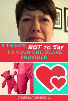 I asked my provider friends what people say that hurts them, so today we are going to bust the myths of what people think about childcare.