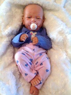 AWW!  BABY GIRL! Berenguer LifeLike Newborn Reborn Pacifier Doll +BOTTLE EXTRAS #BERENGUER