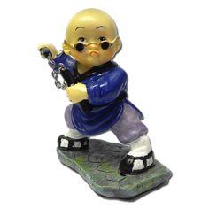 Nunchaku Master Kung Fu Monk now available from www.karatemart.com/