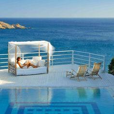 Ios Palace, Ios Island, Cyclades, Greece