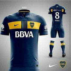 Camiseta Nueva de Boca
