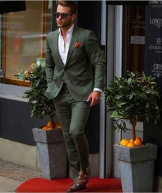 Fashion Mens Style Classy Suits New Ideas Mens Fashion Suits, Mens Suits, Beard Fashion, Engagement Suits, Classy Suits, 2016 Fashion Trends, Casual Work Outfits, Suit And Tie, Wedding Suits