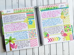 Doodlebug Design Inc Blog: Fun in the Sun: Tropical Planner Love by Kimberly