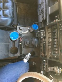 Land Rover Defender console and switch binacle