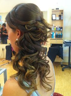 Prom updo