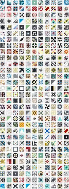 12 idées déco avec des motifs carreaux de ciment