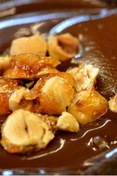 Καραμελωμένα φουντούκια Pretzel Bites, Sweet Recipes, Cooking Tips, French Toast, Pork, Sweets, Bread, Breakfast, Ethnic Recipes