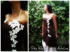 juste la robe, sans le sarouel, et ces fleurs, sublimes!