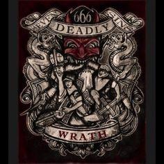 Wrath, Print by Se7en Deadly - SBTT