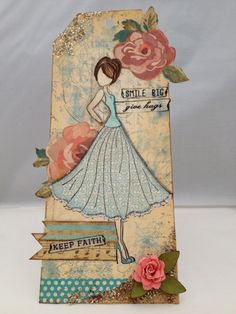 Julie Nutting Stamp from Prima by roxanne