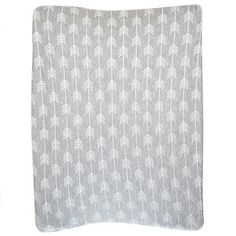 Made from cotton knit fabric Fits standard change mat size OR or Cover Gray, Grey And White, Mattress, Change, Blanket, Knitting, Arrows, Bed, Fabric