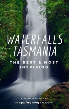 Interested in Tasmania travel? Tasmania has some of the best waterfalls in Australia - perfect for photography, chasing waterfalls is one of the best Tasmania things to do! Check out these beautiful places for your bucket lists - click through! Brisbane, Melbourne, Perth, Tasmania Road Trip, Tasmania Travel, Cairns, Australia Travel Guide, Australia Trip, Australia Photos