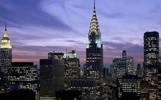 Nice Midtown Skyline New York City Hd Backgrounds