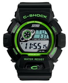 Amazon.co.jp: SKM 腕時計 ブランド メンズ ボーイズ 男の子 キッズ腕時計 学生用 デジタル腕時計 多機能腕時計 アウトドア 防水 ウォッチ おしゃれ スポーツウォッチ アラーム クロノグラフ: 腕時計通販