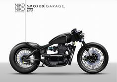 Kawasaki Vulcan 500 By Smoked Garage Custom Motorcycles