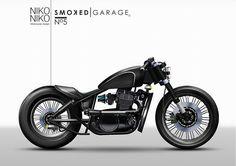 kawasaki vulcan 500  by Smoked Garage Custom Motorcycles