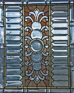 Stained Glass ~ I want one of these for my bathroom window♥