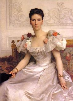 William Adolphe Bouguereau - Portrait of Madame la Comtesse de Cambaceres
