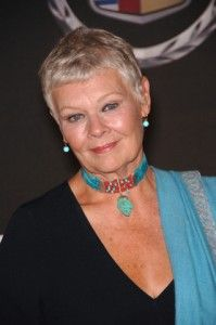 Actress Judi Dench, famed for her many roles of playing dignified, strong willed women in positions of authority who are sometimes opposed or criticized by those under her, is now under a new form of criticism: age-related macular degeneration (#AMD). #judidench